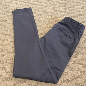 Barely worn!  Grey pants from GAP.